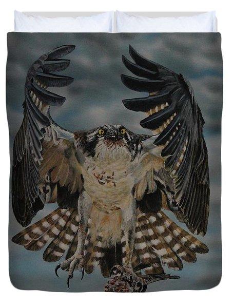 Fleck The Osprey  Duvet Cover
