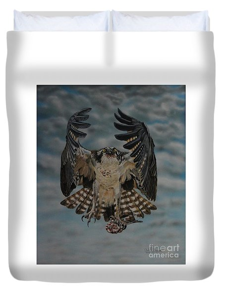 Fleck The Osprey  Duvet Cover