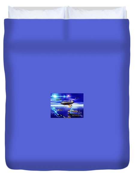 Fleet Lomo Duvet Cover