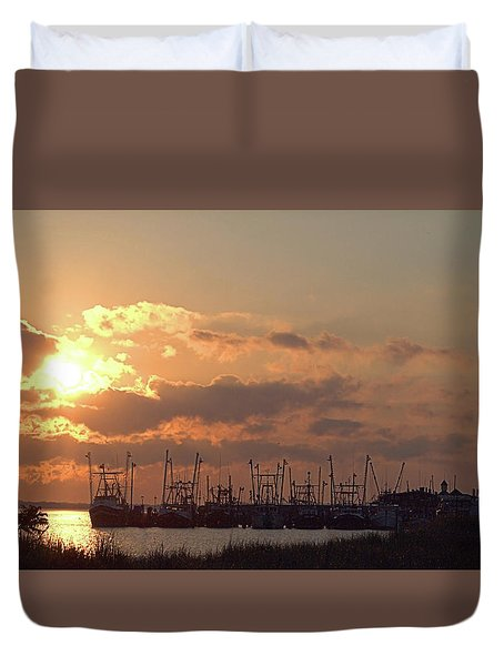 Fleet Duvet Cover