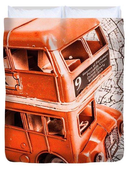 Fleet Street Duvet Cover
