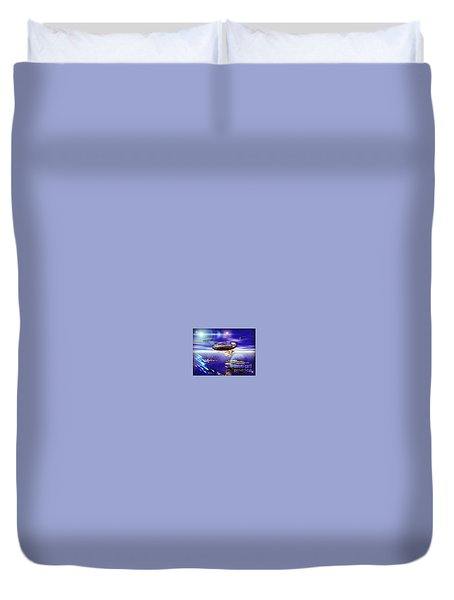 Fleet Tropical Duvet Cover