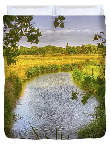Flemish Creek Duvet Cover