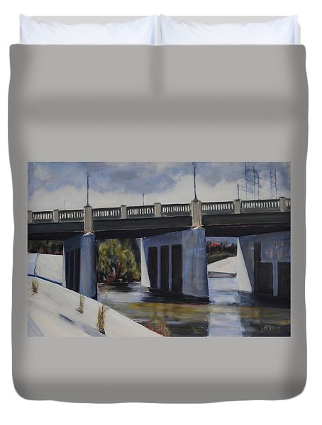 Fletcher Street Bridge Duvet Cover