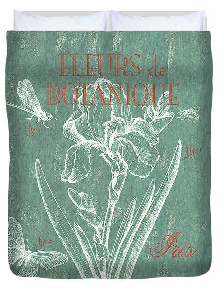Fleurs De Botanique Duvet Cover