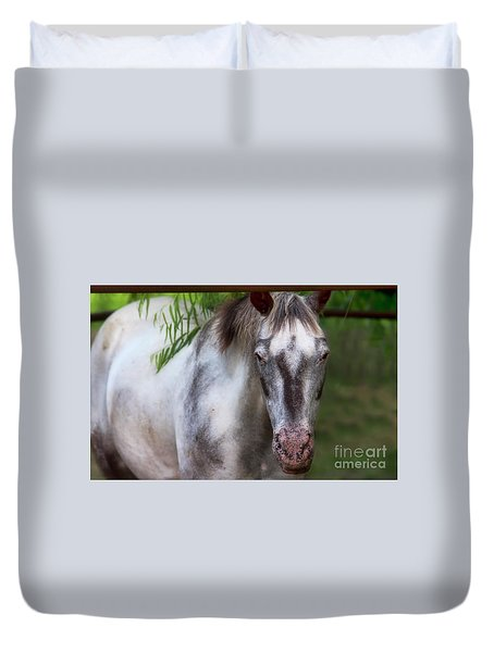 Flicka Duvet Cover