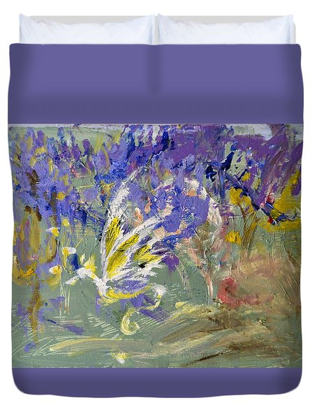 Flight Of Dreams Duvet Cover
