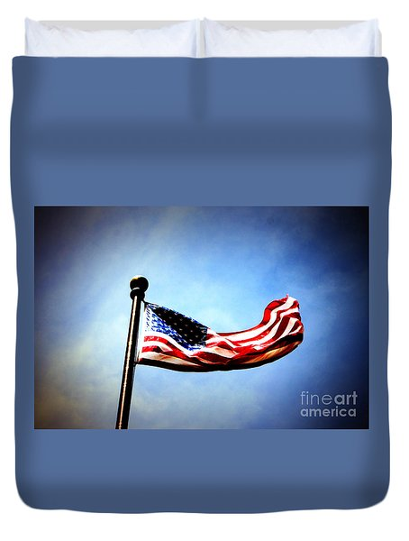 Flight Of Freedom Duvet Cover