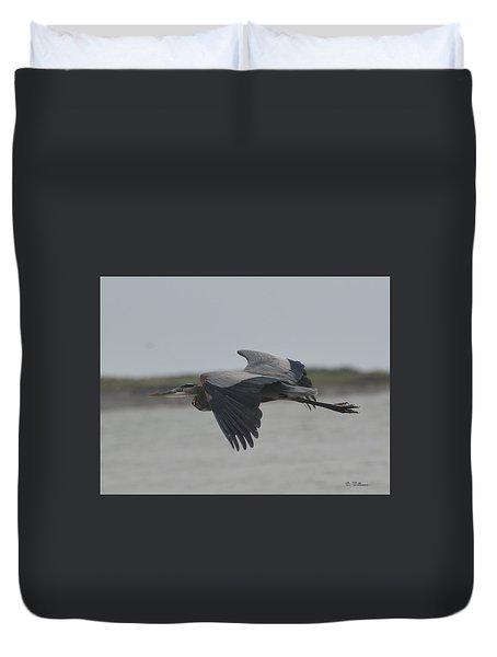 Flight Of The Heron Duvet Cover
