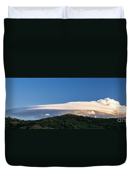 Flight Of The Navigator Duvet Cover by Giuseppe Torre