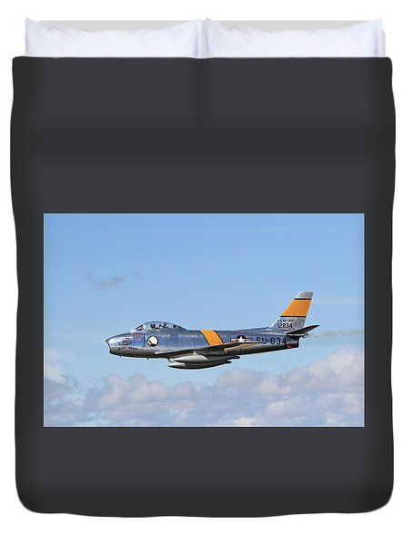 Flight Of The Sabre  Duvet Cover