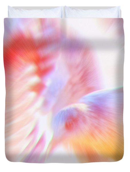 Flight Of The Seagull  Duvet Cover