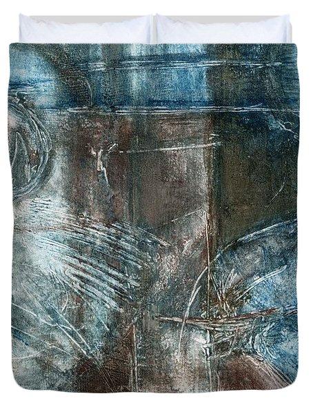 Flight Passage Duvet Cover by Kerryn Madsen- Pietsch