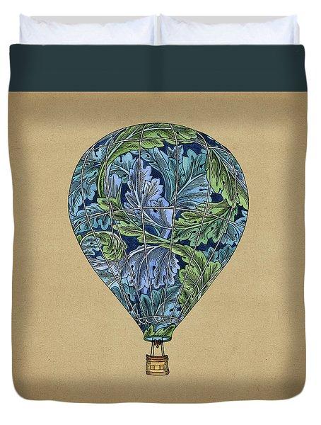 Flight Pattern Duvet Cover by Meg Shearer
