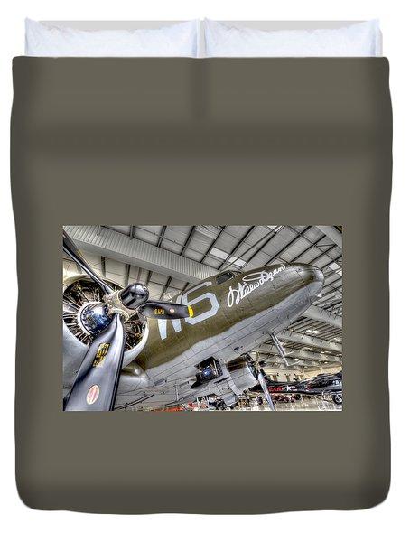 Flight Time Duvet Cover