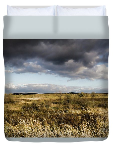 Flinders Ranges Fields V3 Duvet Cover by Douglas Barnard