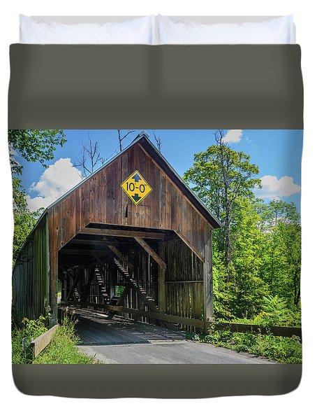 Flint Bridge Duvet Cover