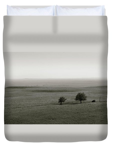 Flint Hills Vistas Duvet Cover by Thomas Bomstad