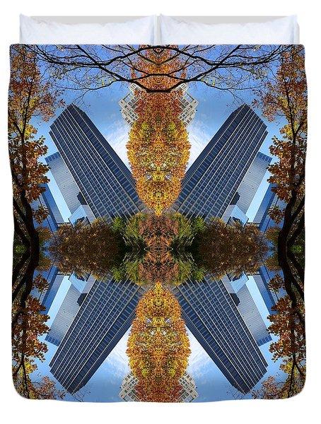 Flip Shot Central Park Duvet Cover