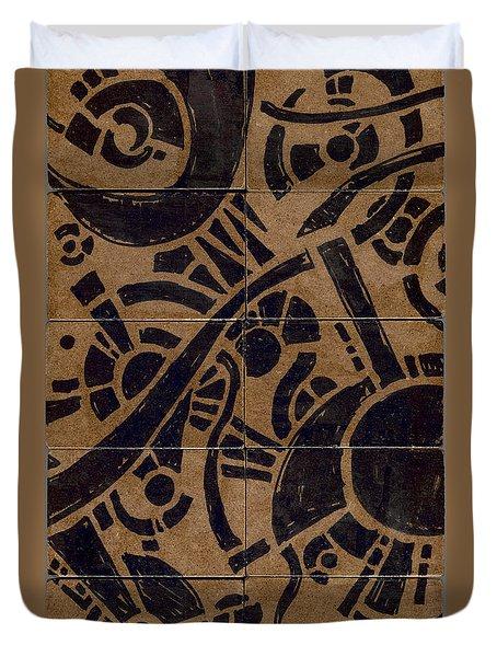 Flipside 1 Panel B Duvet Cover
