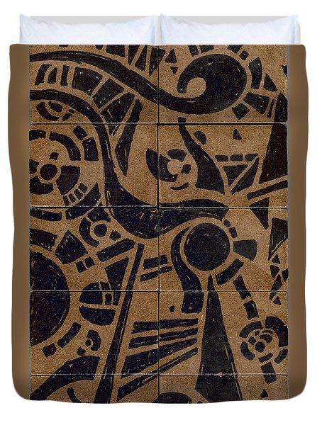 Flipside 1 Panel C Duvet Cover