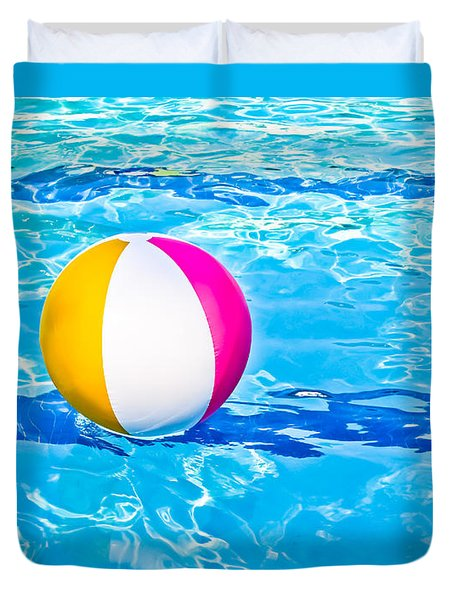 Float Duvet Cover by Colleen Kammerer