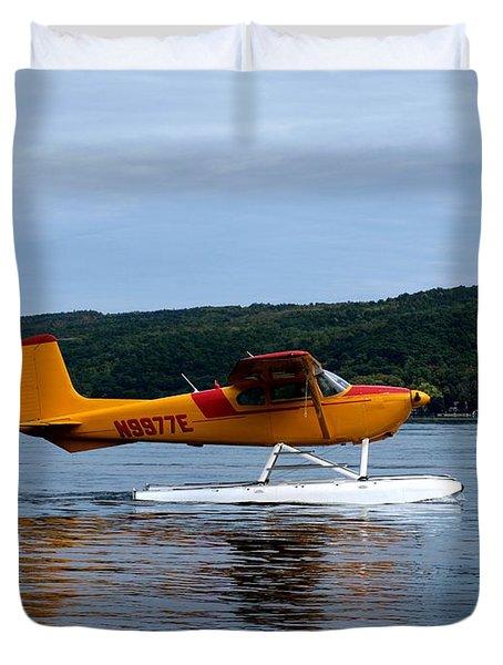 Float Plane Two Duvet Cover