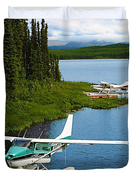 Float Planes Duvet Cover