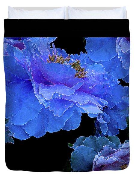 Floating Bouquet 10 Duvet Cover by Lynda Lehmann