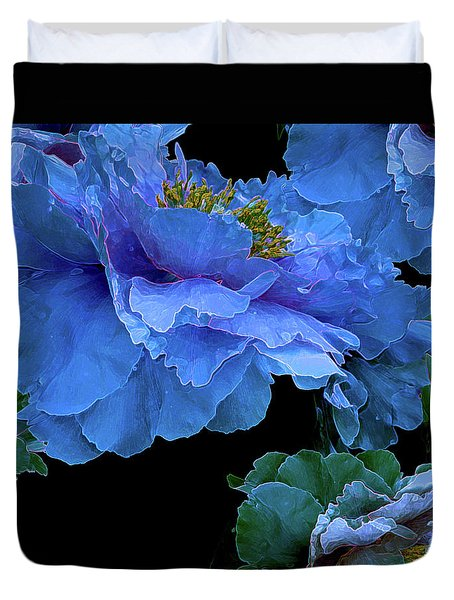 Floating Bouquet 14 Duvet Cover