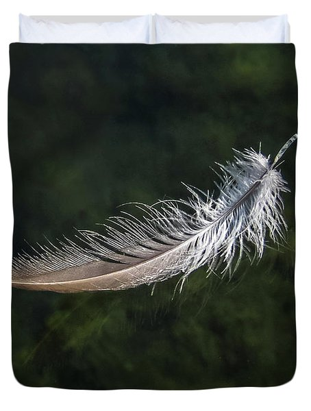 Floating Feather Duvet Cover
