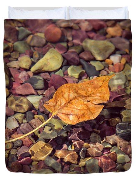 Floating Leaf Duvet Cover
