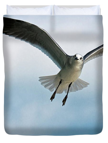 Floating On Air Duvet Cover by Christopher Holmes