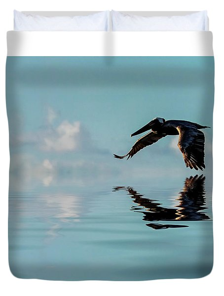 Floating On Air Duvet Cover by Cyndy Doty