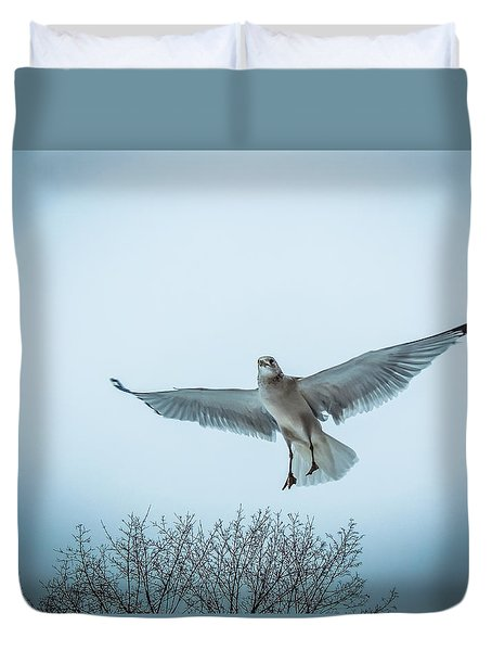 Floating On Hope  Duvet Cover