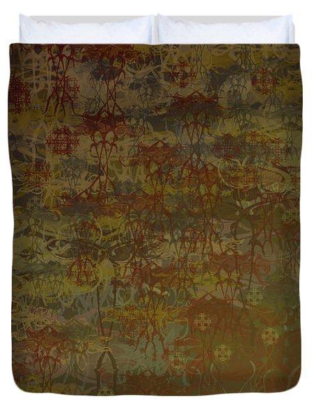 Floating Zen Duvet Cover