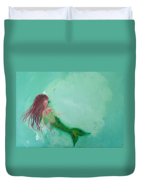 Floaty Mermaid Duvet Cover
