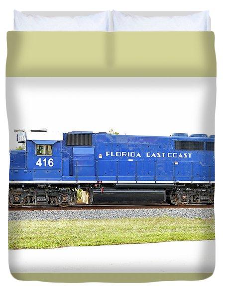Floirda East Coast Engine Duvet Cover