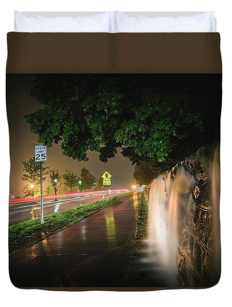 Flooding Duvet Cover