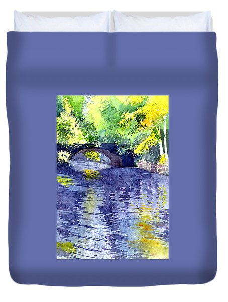 Floods Duvet Cover