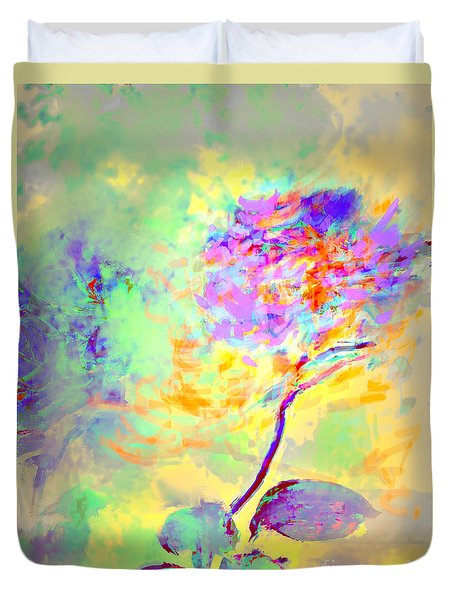 Duvet Cover featuring the photograph Flor by Alfonso Garcia