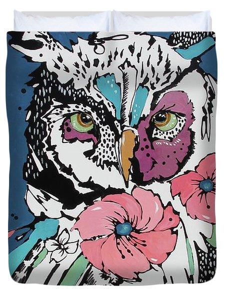 Flora 2 Duvet Cover