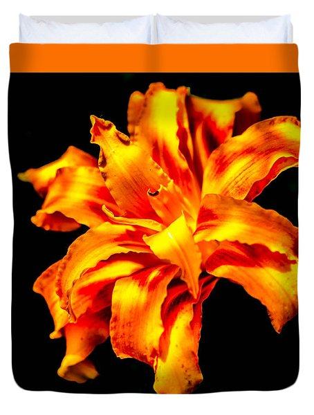 Flora Dance Duvet Cover