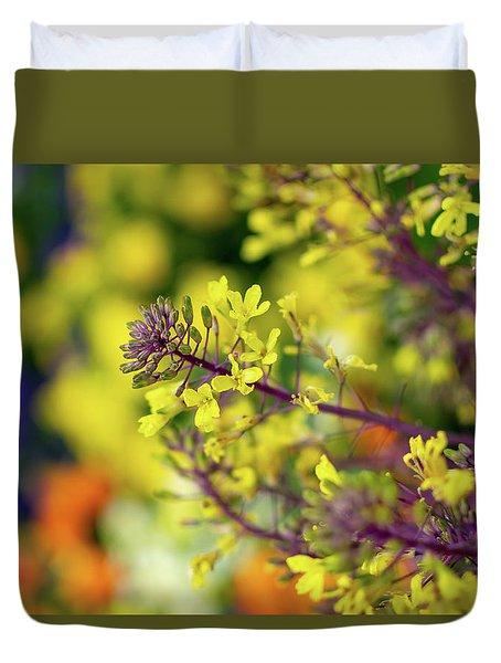 Flora Flora Flora Duvet Cover