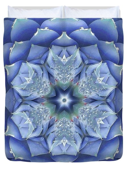 Flora Muse Mandala Duvet Cover