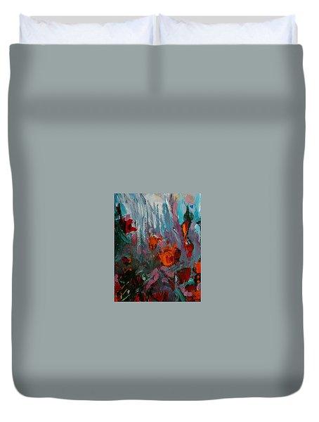 Flora Duvet Cover