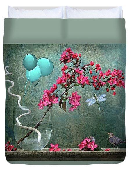 Floral 2 Duvet Cover