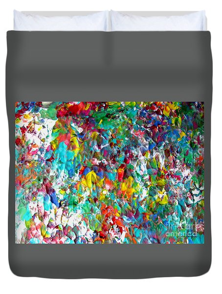 Floral Abstract 0715 Duvet Cover