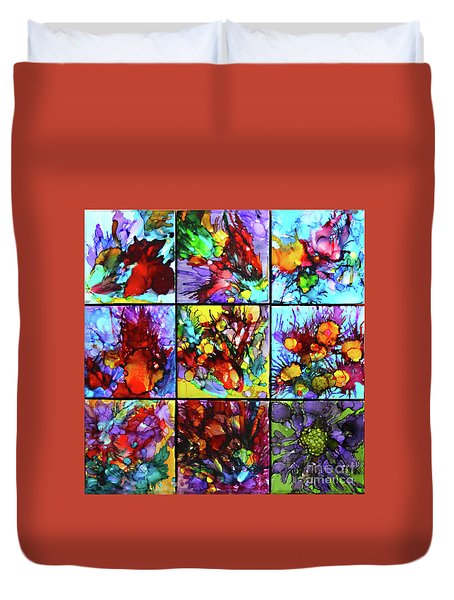 Floral Air Duvet Cover