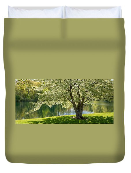 Floral Canopy Duvet Cover